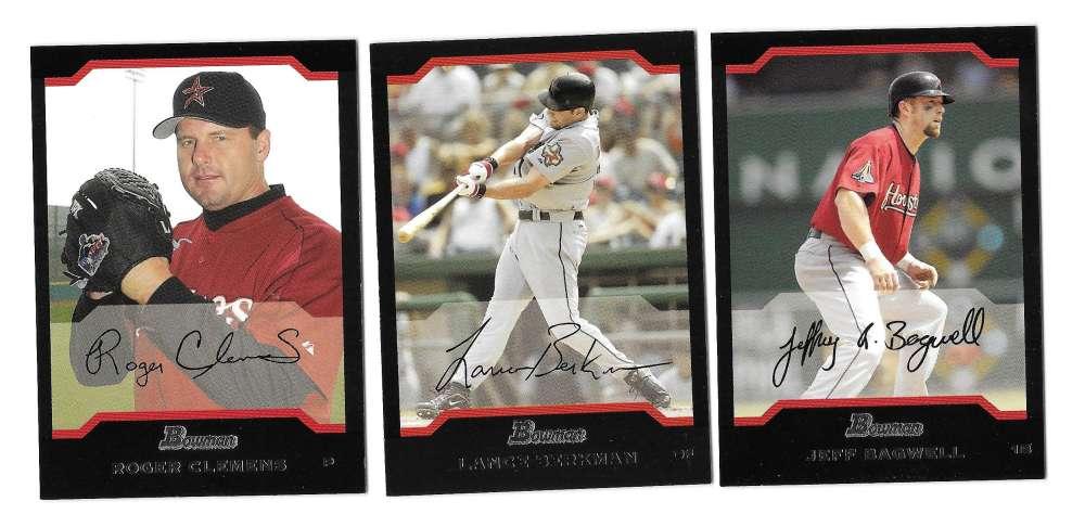 2004 Bowman - HOUSTON ASTROS Team Set