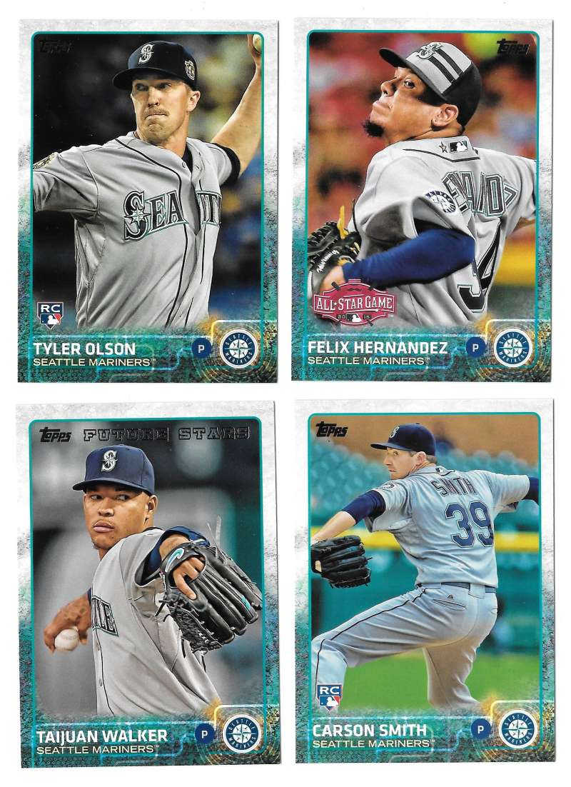 2015 Topps Update - SEATTLE MARINERS Team Set