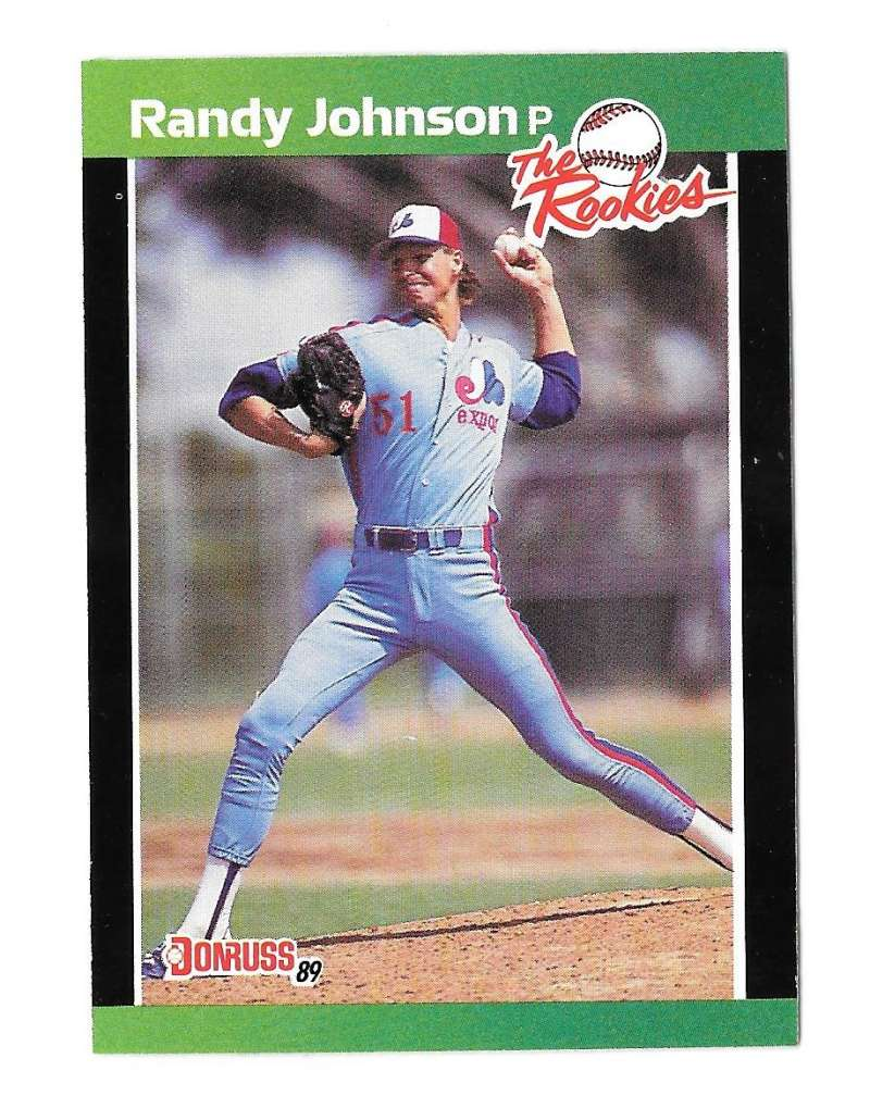 1989 Donruss Rookies MONTREAL EXPOS Team Set