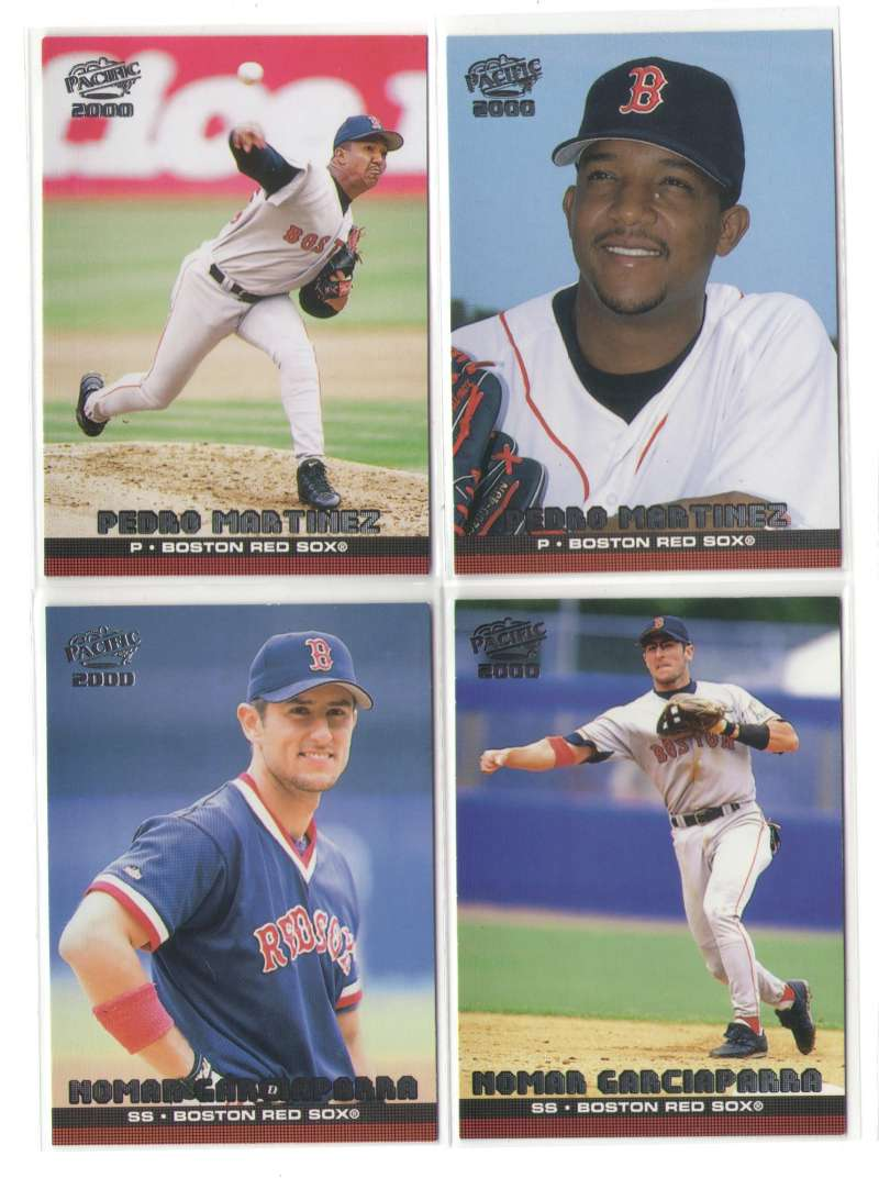 2000 PACIFIC - BOSTON RED SOX Team Set
