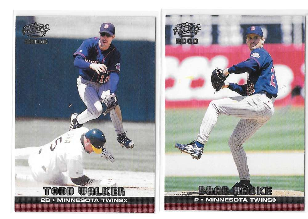 2000 PACIFIC - MINNESOTA TWINS Team Set