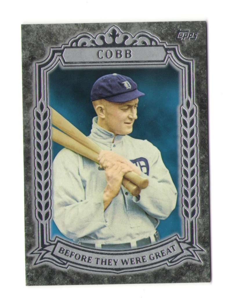 2014 Topps Before They Were Great - DETROIT TIGERS