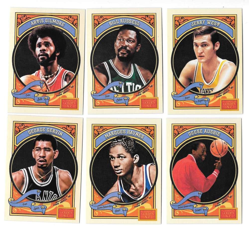 2014 Panini Golden Age - Basketball Players
