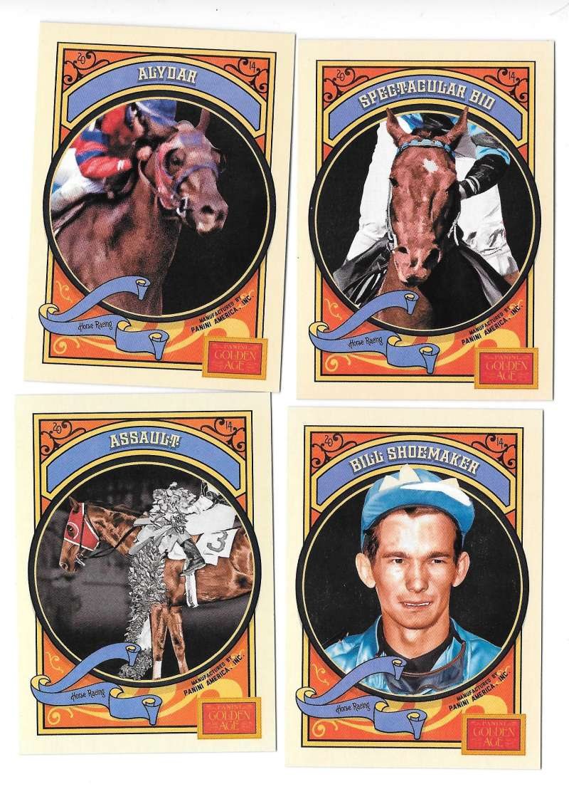 2014 Panini Golden Age - Horse Racing
