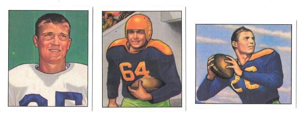 1950 Bowman Football Reprint Team Set - GREEN BAY PACKERS