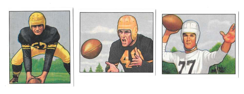 1950 Bowman Football Reprint Team Set - PITTSBURGH STEELERS