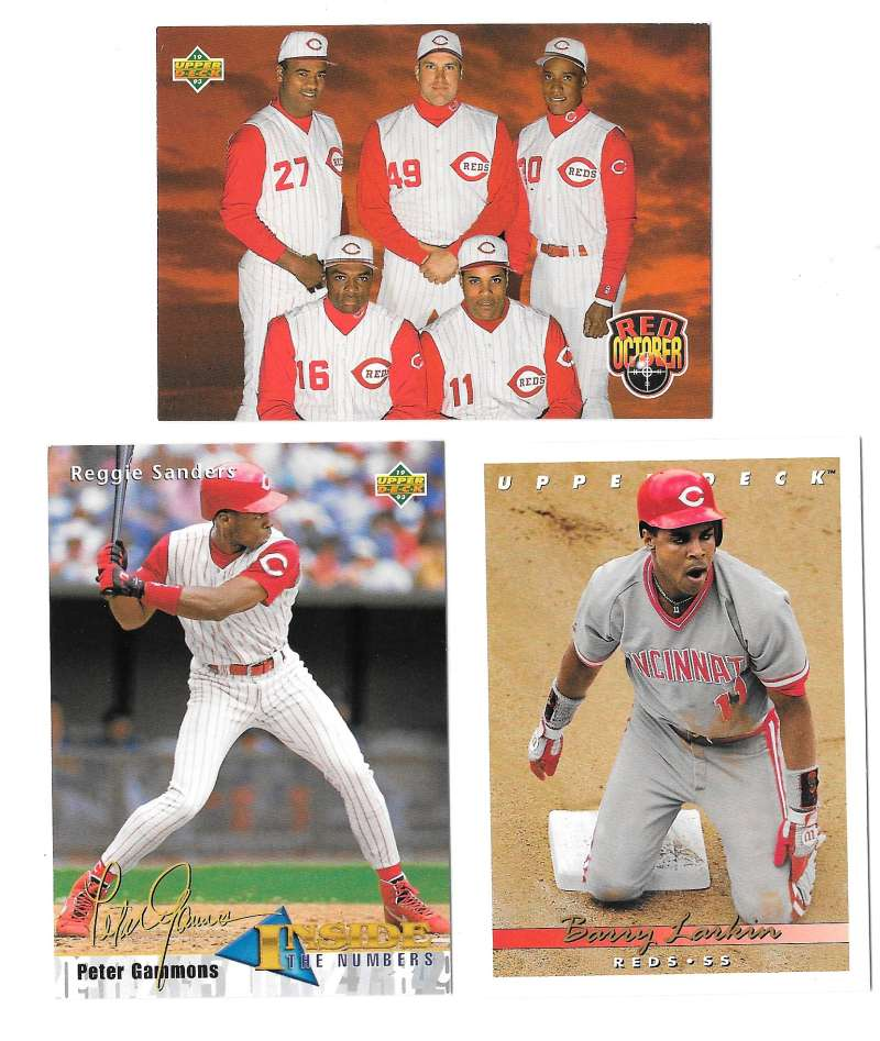 1993 Upper Deck - CINCINNATI REDS Team Set