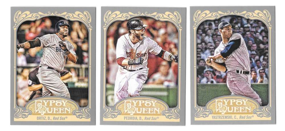 2012 Topps Gypsy Queen - BOSTON RED SOX Team Set