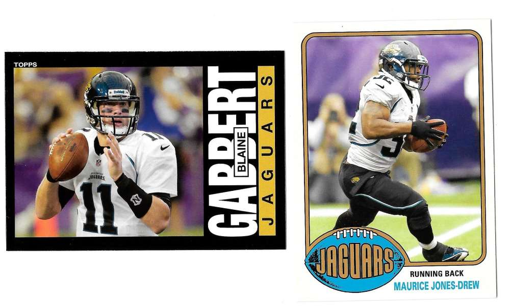 2013 Topps Archives Football Team Set - JACKSONVILLE JAGUARS