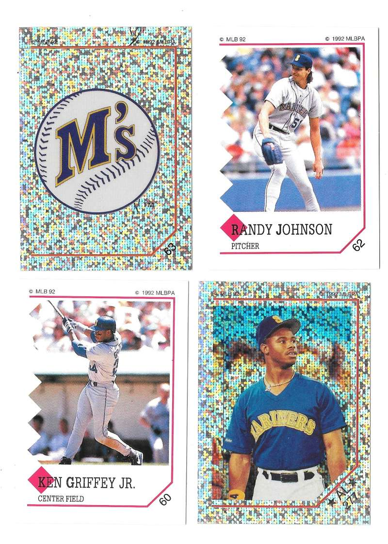 1992 Panini Stickers - SEATTLE MARINERS Team Set