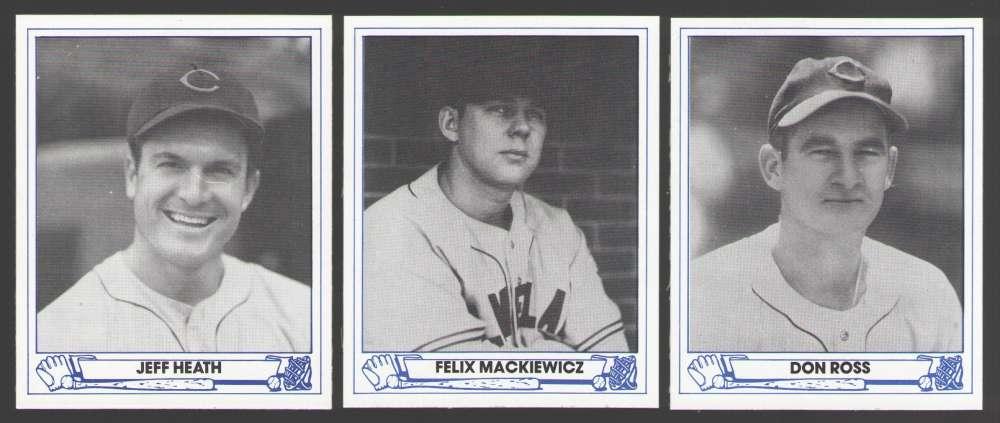 1945 Playball (83 TCMA) - Cleveland Indians Team Set