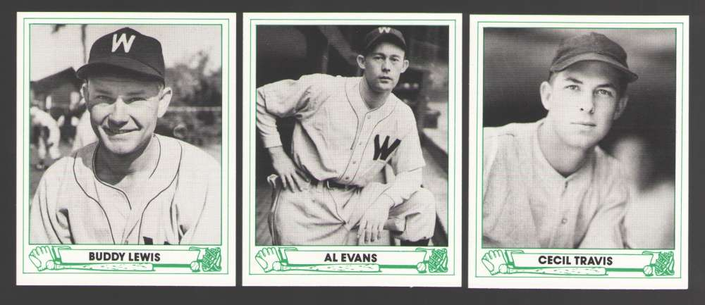 1946 PlayBall (84 TCMA) - Washington Senators (Twins) Team Set