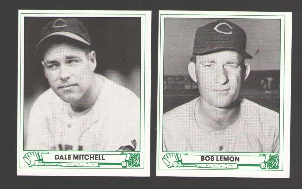 1947 Playball (85 TCMA) - Cleveland Indians Team Set