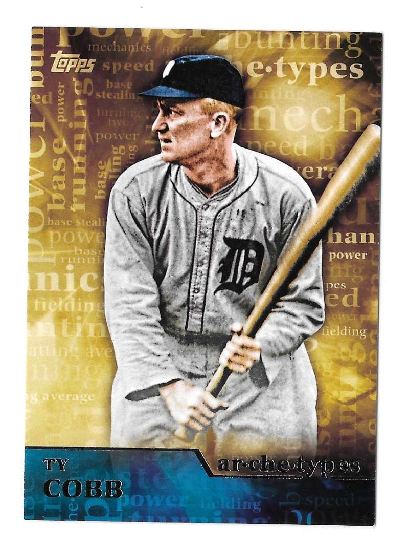2015 Topps Archetypes - DETROIT TIGERS Team Set