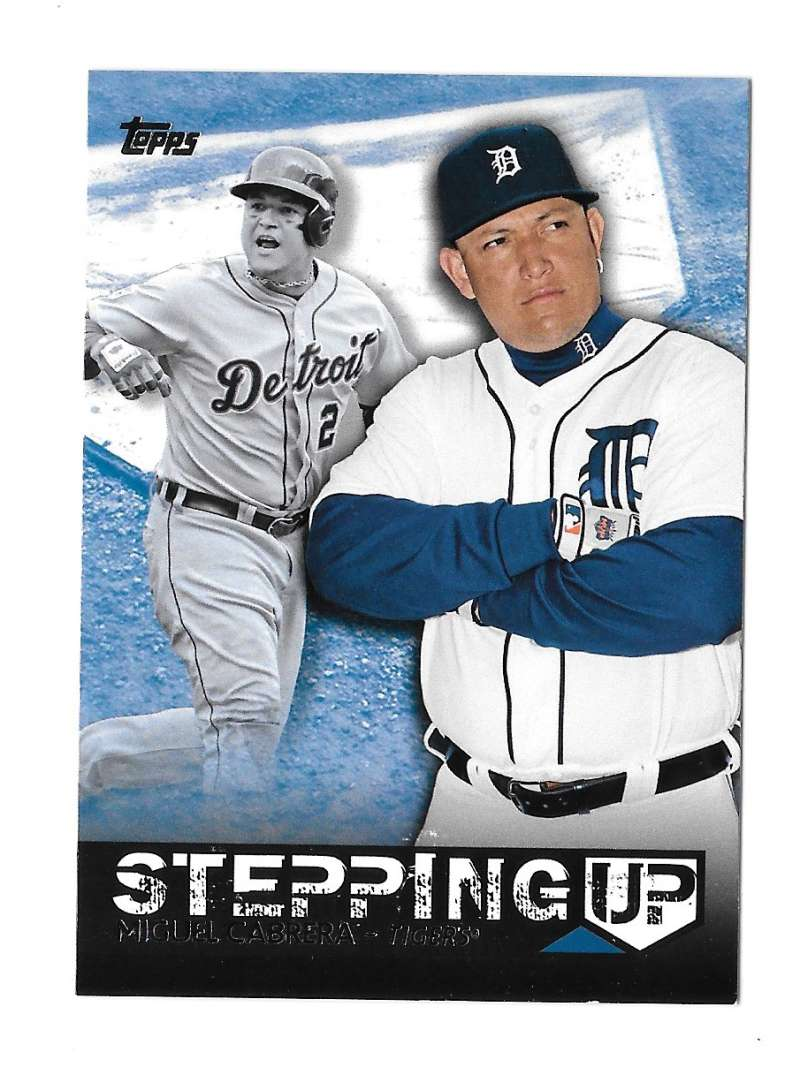 2015 Topps Stepping Up - DETROIT TIGERS Team Set