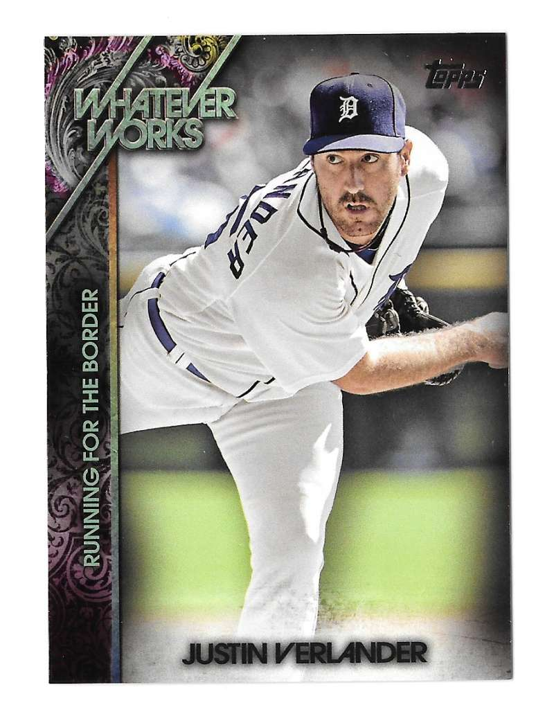 2015 Topps Update Whatever Works - DETROIT TIGERS Team Set
