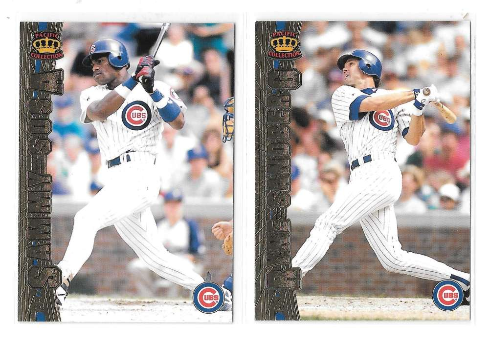 1997 Pacific - CHICAGO CUBS Team Set