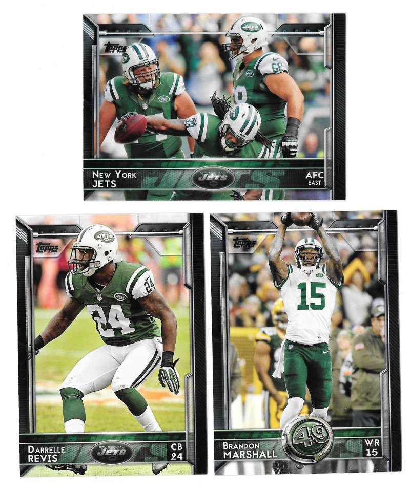 2015 Topps Football Team Set - NEW YORK JETS