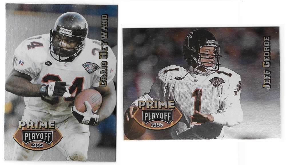 1995 Playoff Prime Football Team Set - ATLANTA FALCONS