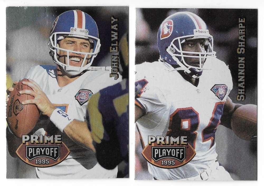 1995 Playoff Prime Football Team Set - DENVER BRONCOS