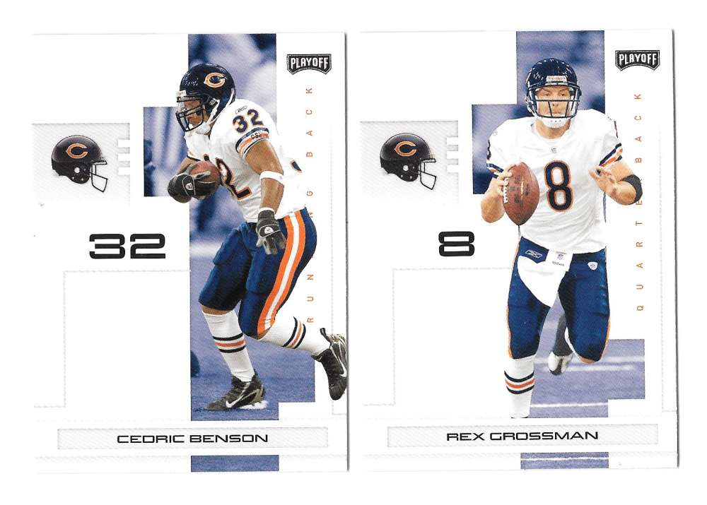 2007 Playoff NFL Football Team Set - CHICAGO BEARS