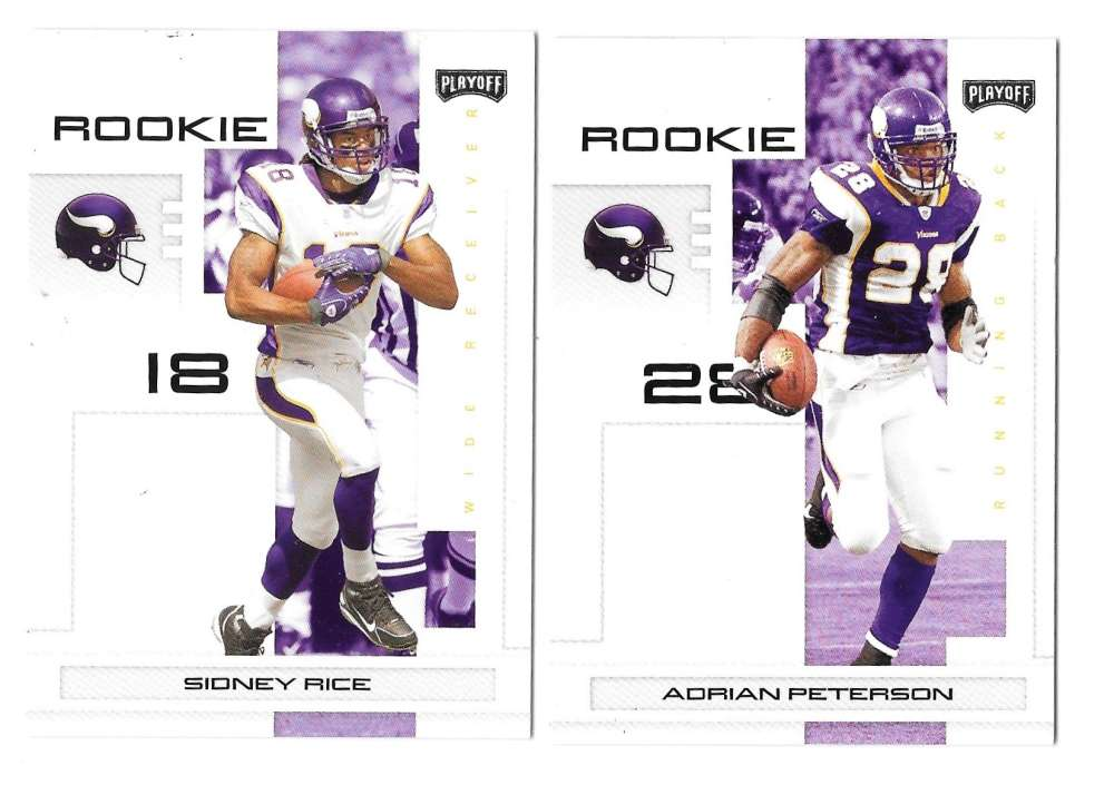 2007 Playoff NFL Football Team Set - MINNESOTA VIKINGS