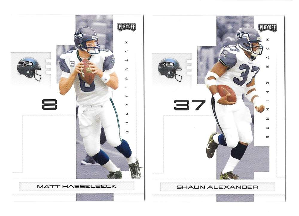 2007 Playoff NFL Football Team Set - SEATTLE SEAHAWKS