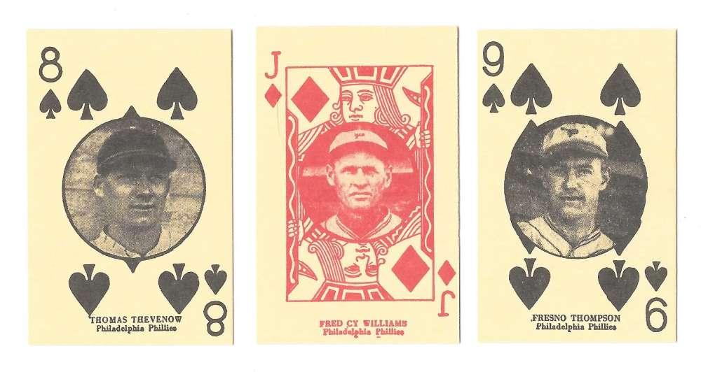 1927 W560 Reprints - PHILADELPHIA PHILLIES Team Set