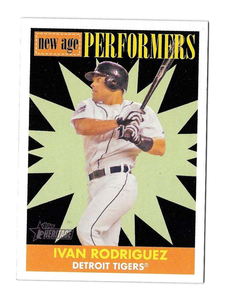 2007 Topps Heritage New Age Performers - DETROIT TIGERS