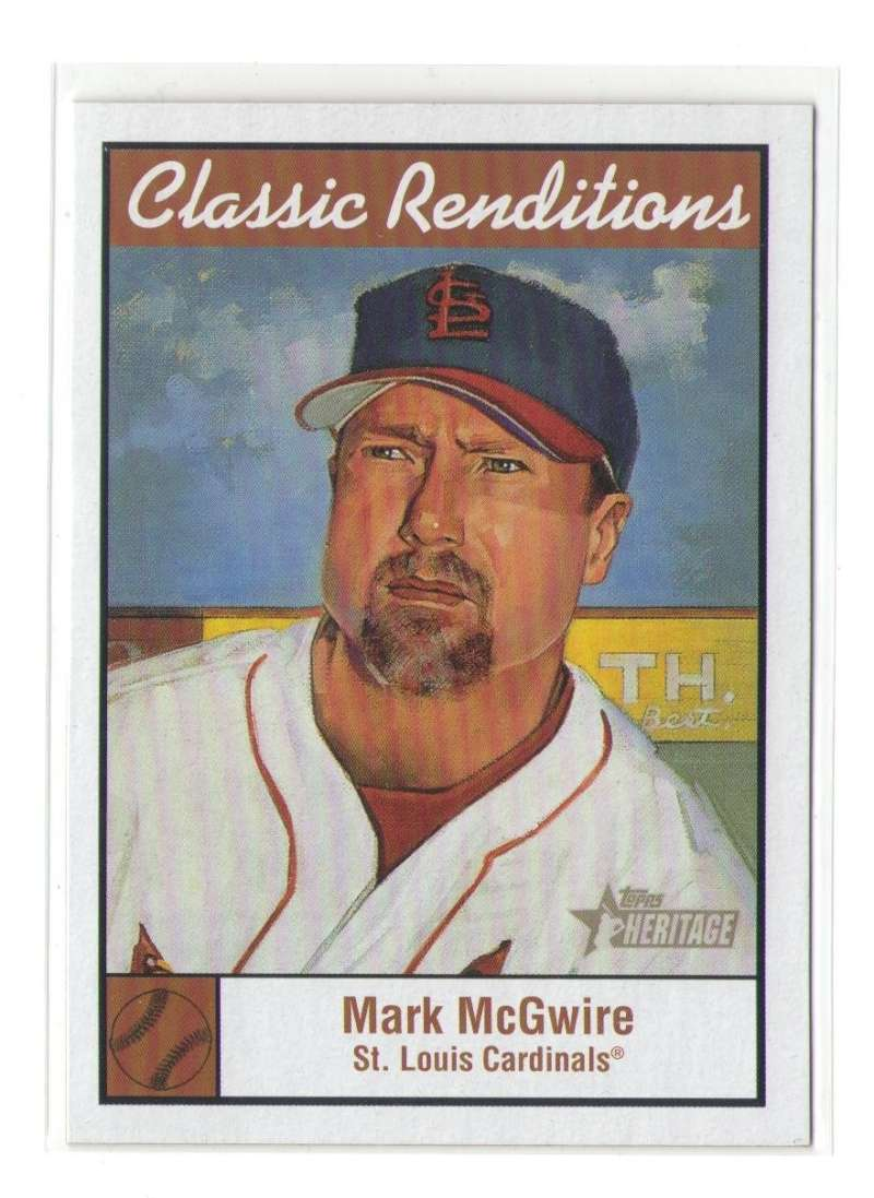 2001 Topps Heritage Classic Renditions - ST LOUIS CARDINALS Team Set