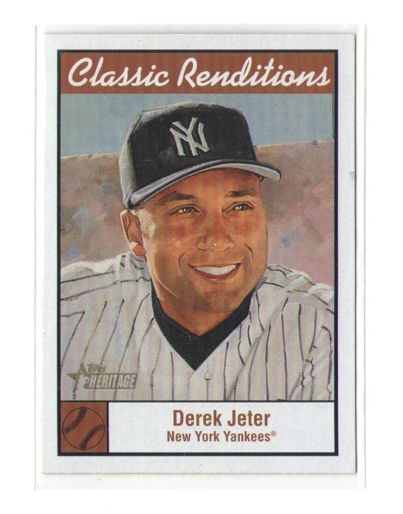 2001 Topps Heritage Classic Renditions - NEW YORK YANKEES Team Set
