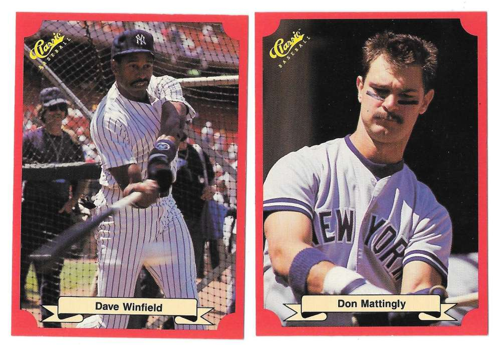 1988 Classic Red - NEW YORK YANKEES Team Set