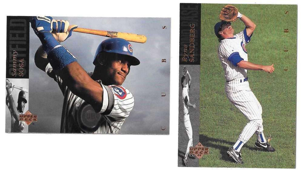 1994 Upper Deck - CHICAGO CUBS Team Set