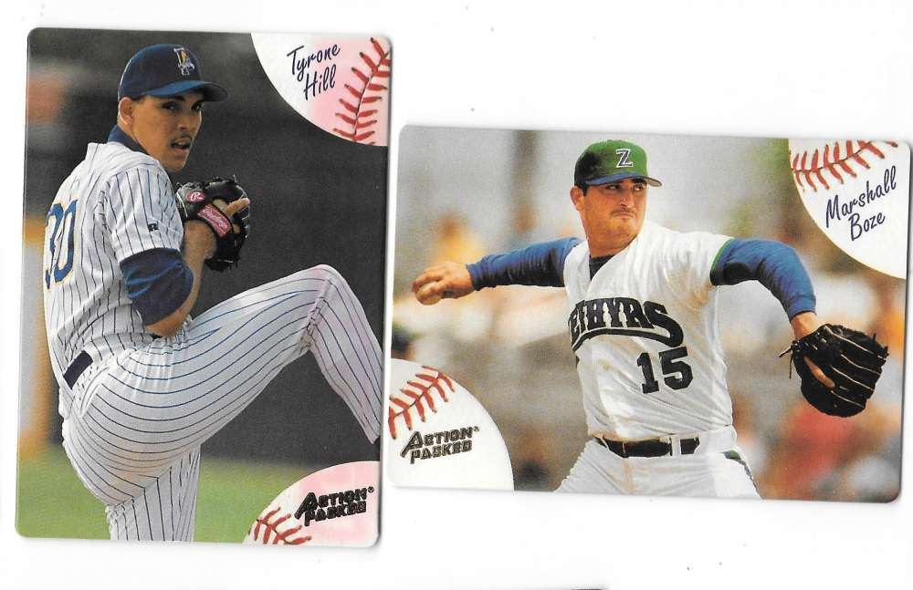 1994 Action Packed Minors - MILWAUKEE BREWERS Team Set