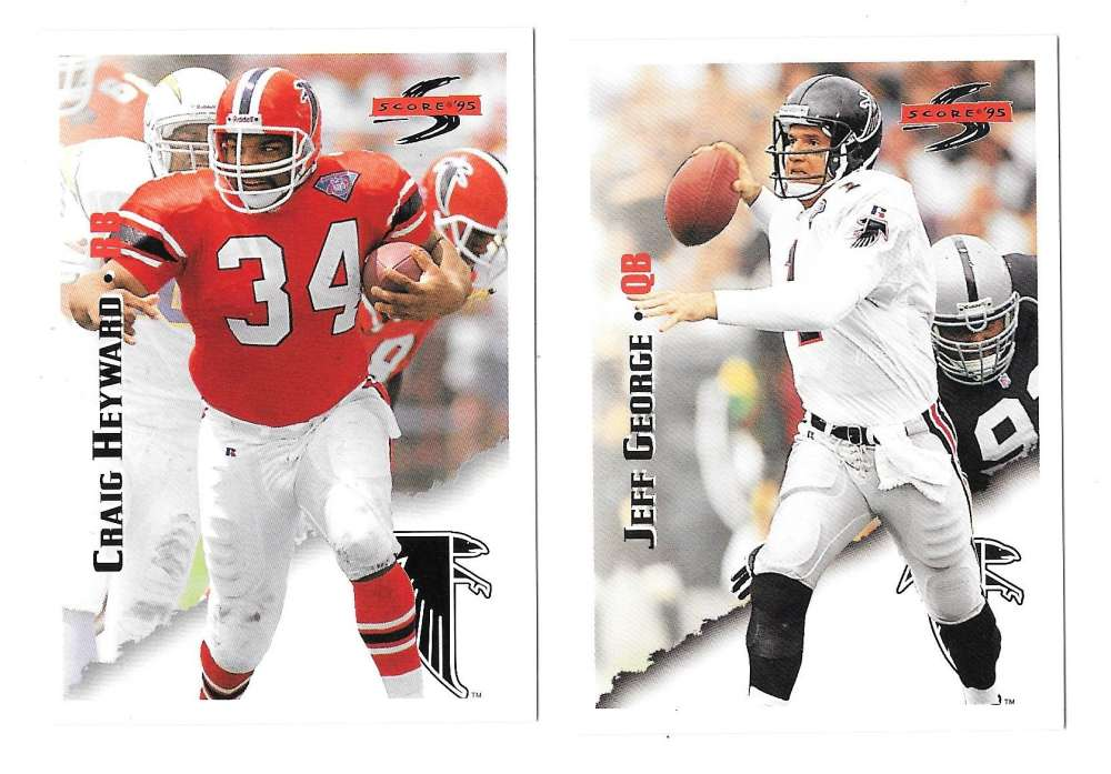 1995 Score Football Team Set - ATLANTA FALCONS