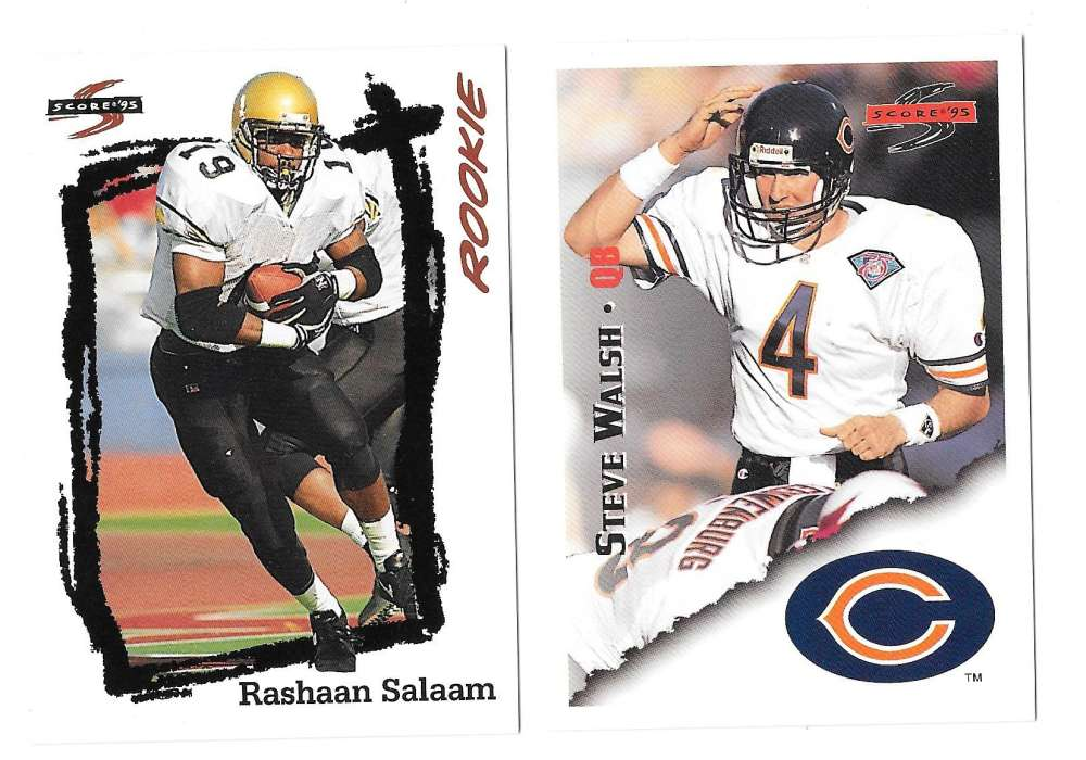 1995 Score Football Team Set - CHICAGO BEARS