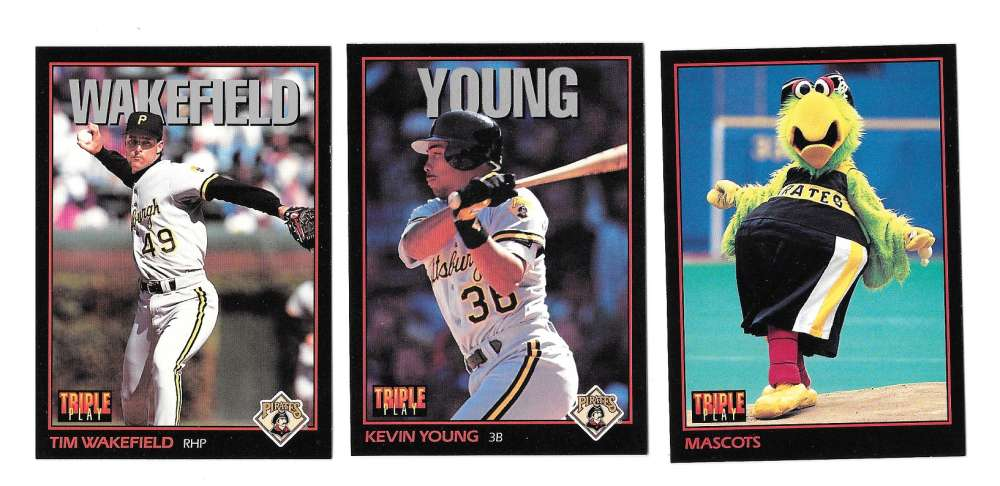 1993 Triple Play PITTSBURGH PIRATES Team Set
