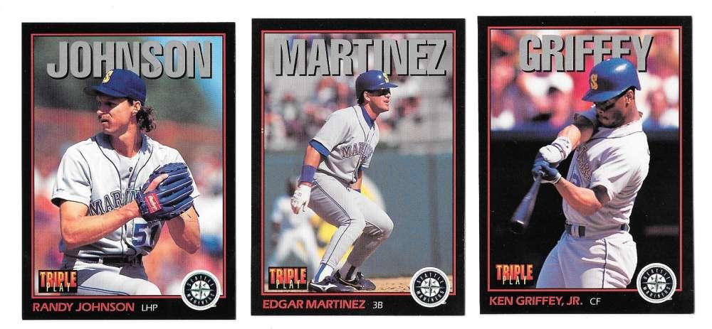 1993 Triple Play SEATTLE MARINERS Team Set