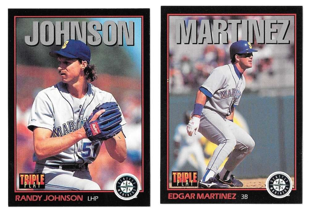 1993 Triple Play SEATTLE MARINERS Team Set missing Griffey