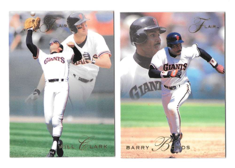 1993 FLAIR - SAN FRANCISCO GIANTS Team Set