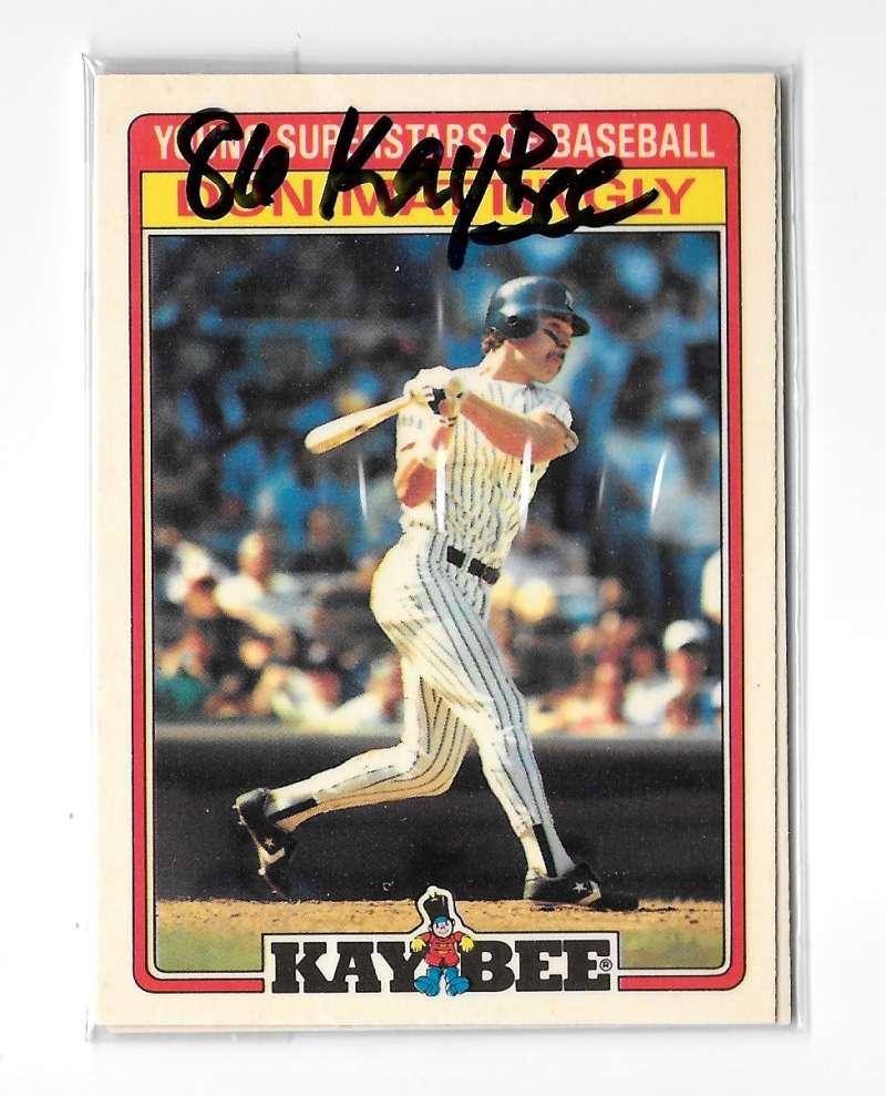 Teamsets4u Item 398642 1986 Kay Bee New York Yankees