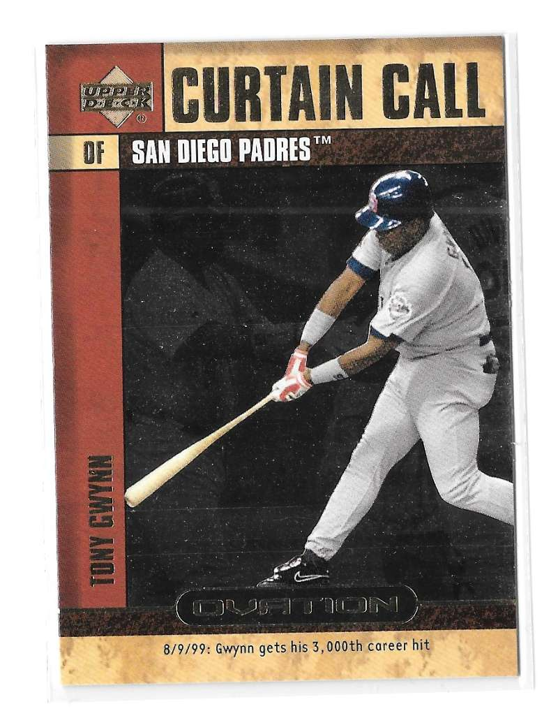 2000 Upper Deck Ovation Curtain Call - SAN DIEGO PADRES