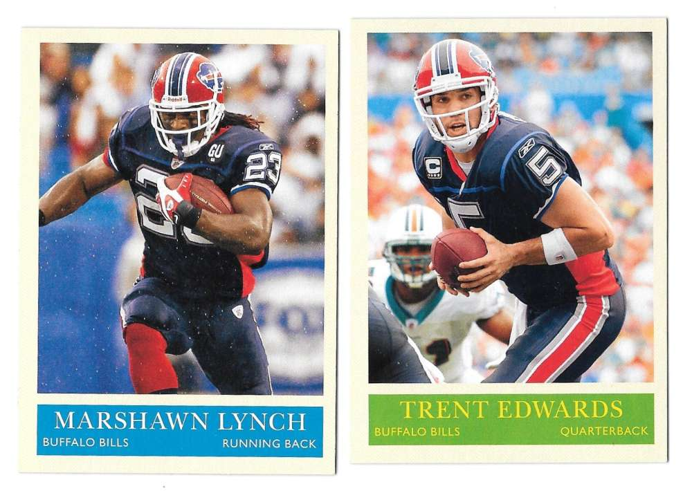2009 UD Philadelphia Football Base Team Set - BUFFALO BILLS