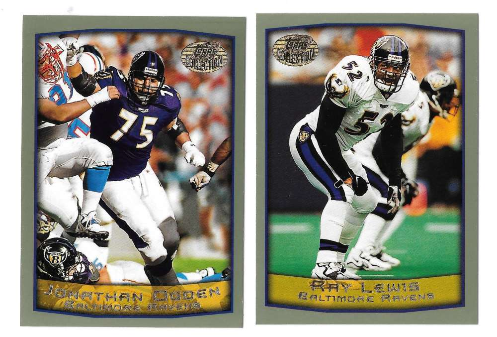 1999 Topps Collections Football Team Set - BALTIMORE RAVENS