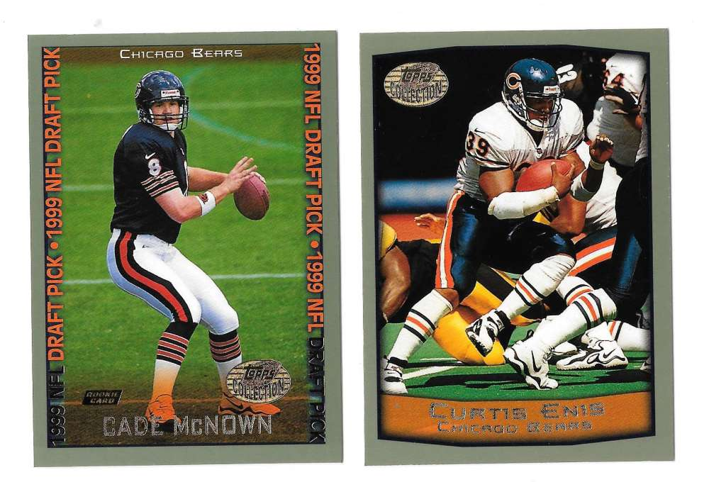 1999 Topps Collections Football Team Set - CHICAGO BEARS