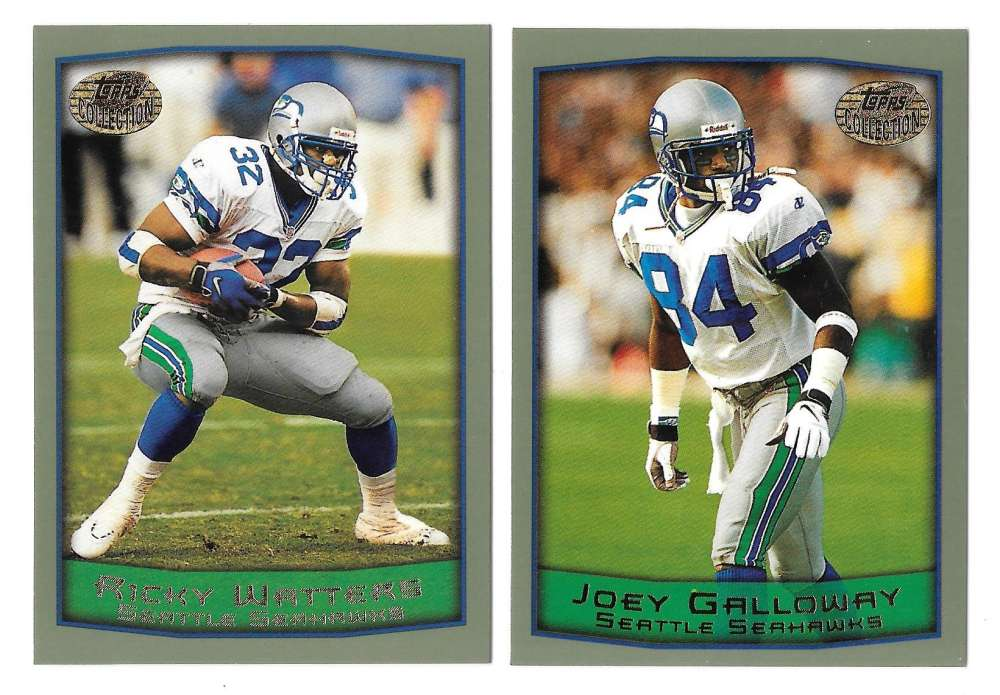 1999 Topps Collections Football Team Set - SEATTLE SEAHAWKS