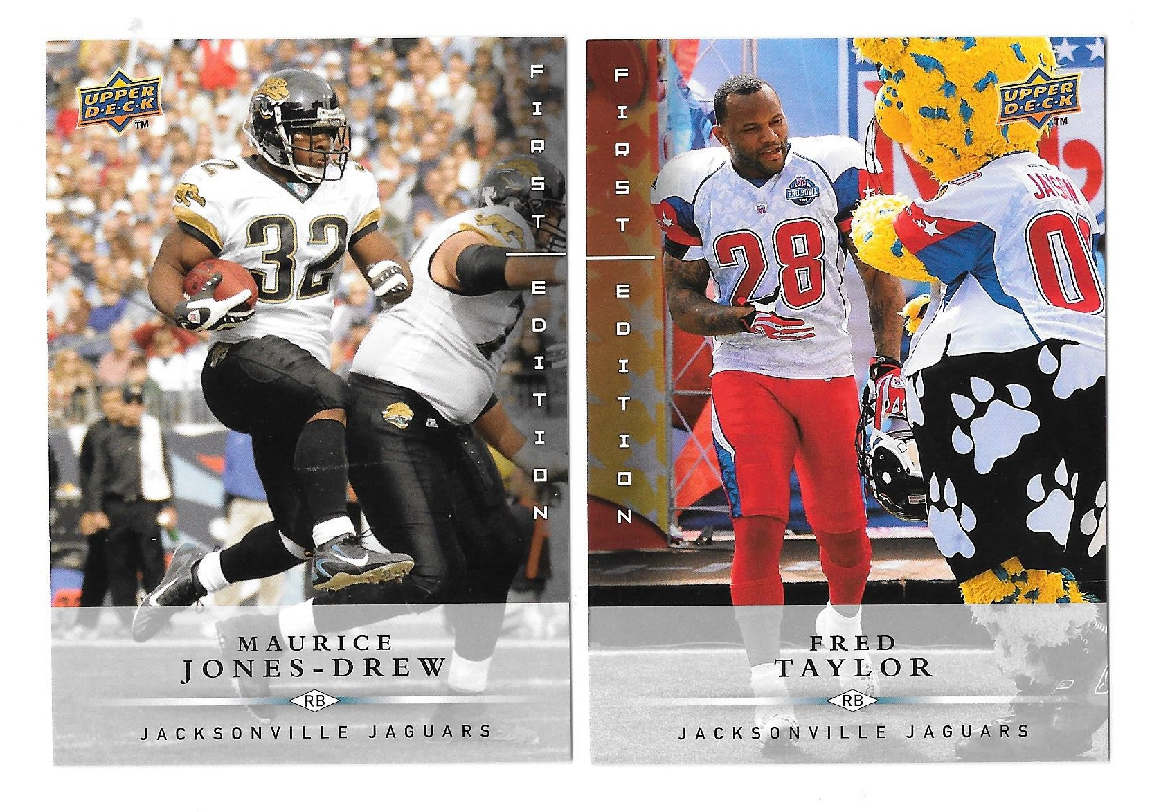 2008 Upper Deck First Edition Football Team Set - JACKSONVILLE JAGUARS
