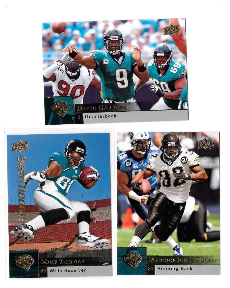 2009 Upper Deck Football (1-325) Team Set - JACKSONVILLE JAGUARS
