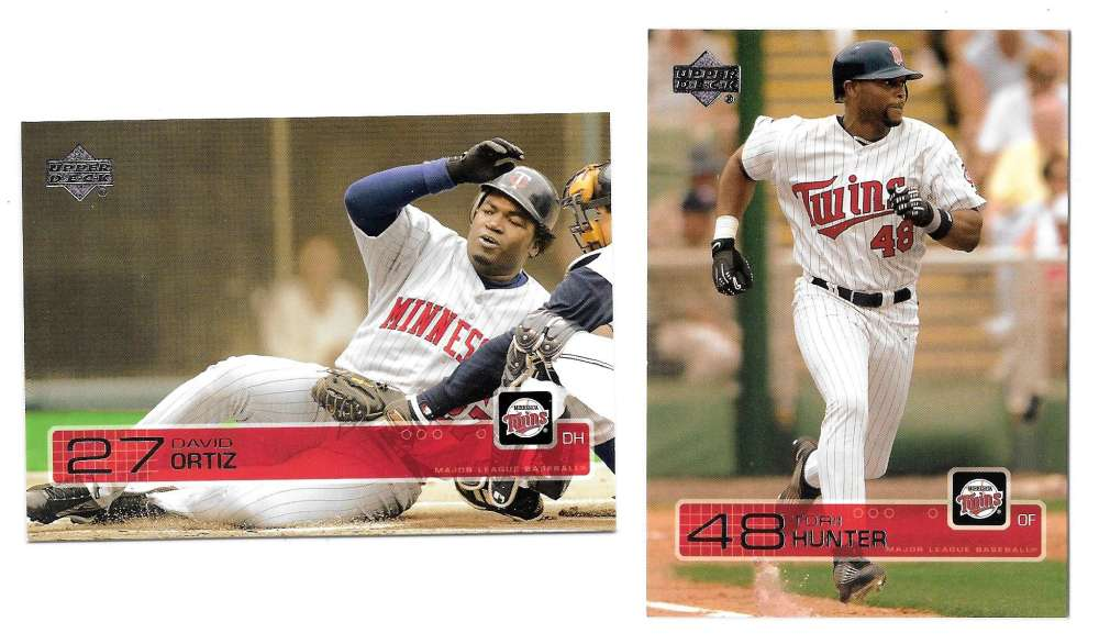 2003 Upper Deck - MINNESOTA TWINS Team Set