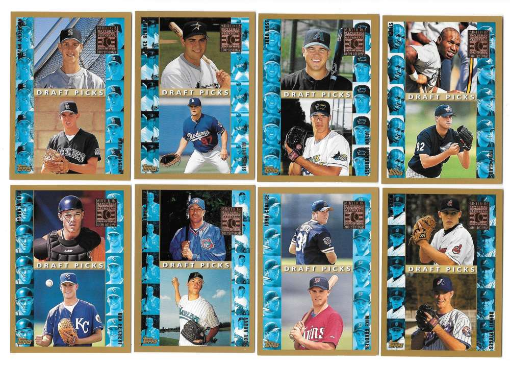 1998 Topps Minted in Cooperstown - Rookie Draft Picks 11 card subset lot